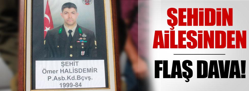 Şehit Halisdemir'in ailesinden flaş dava