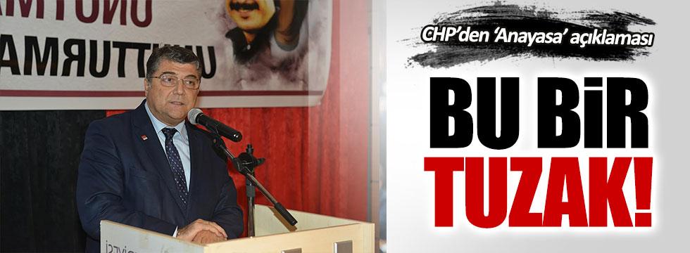 CHP'den yeni Anayasa açıklaması