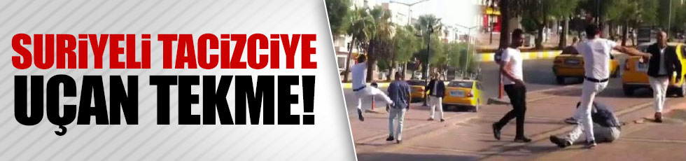 Mersin'de Suriyeli tacizci!