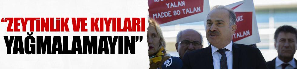 CHP, AYM'den çevre yasasının iptalini istedi