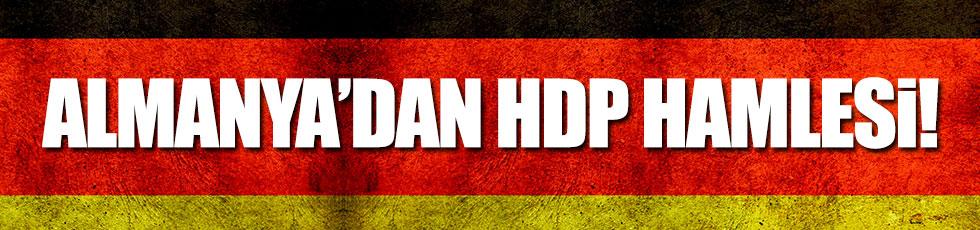 Almanya'dan HDP hamlesi