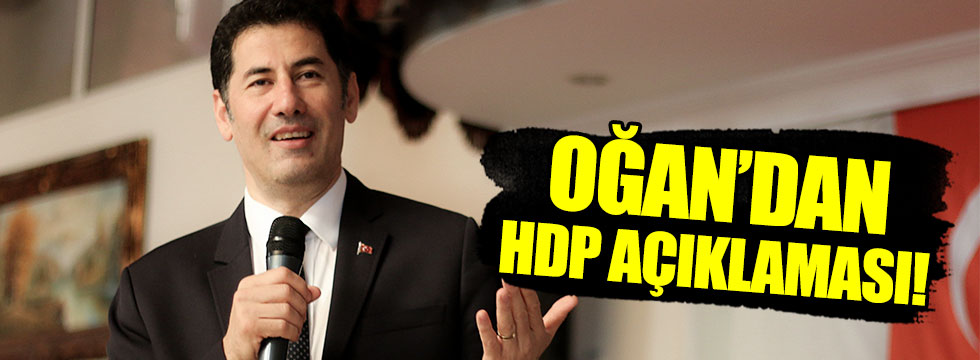 Sinan Oğan'dan HDP değerlendirmesi