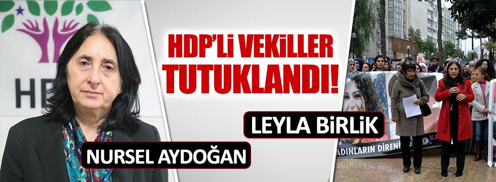 2 HDP'li vekil daha tutuklandı!