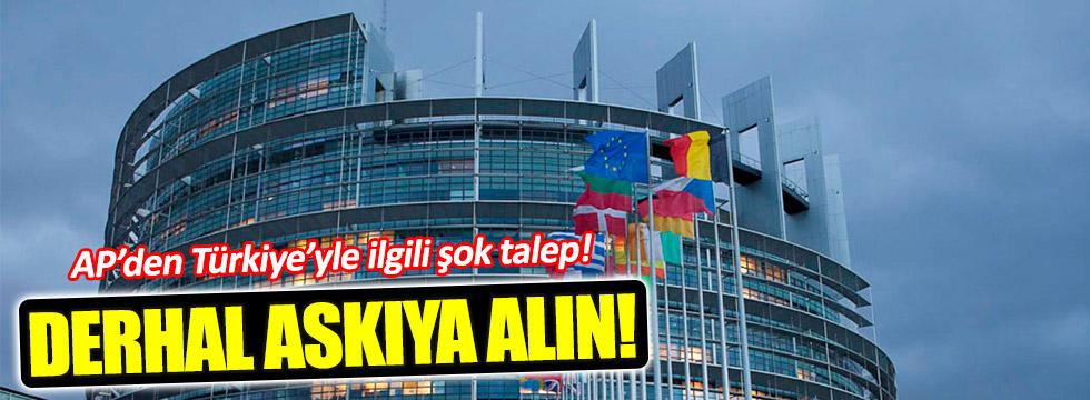 """AP'den Türkiye açıklaması: """"Derhal askıya alın"""""""