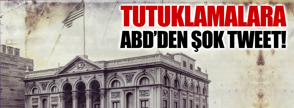 Demirtaş ve Yüksekdağ'ın tutuklanmasına ABD'den şok tweet