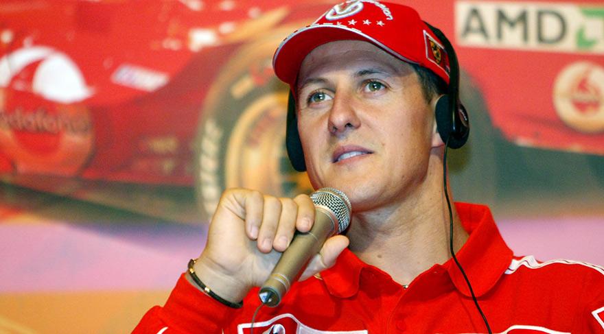 Michael Schumacher'den haber var