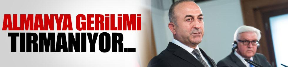 Çavuşoğlu, Alman bakanı geri çevirdi