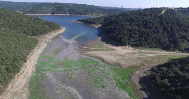 İstanbul barajları alarm veriyor