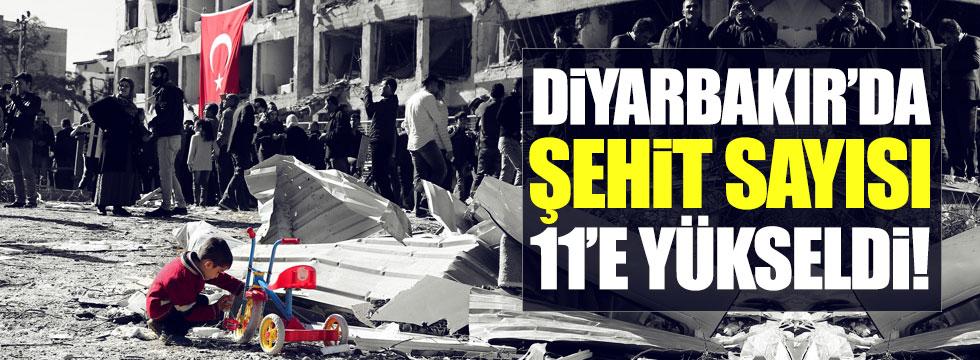 Diyarbakır'daki patlamada ağır yaralı 2 kişi de hayatını kaybetti