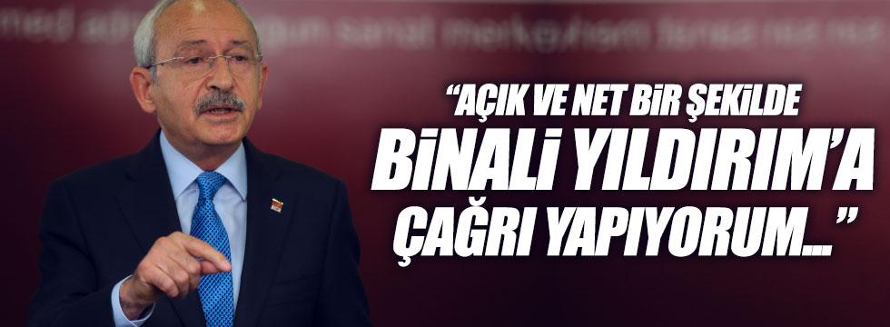 Kılıçdaroğlu, Başbakan'a seslendi