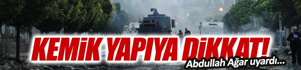 Ağar: PKK ve IŞİD yeni saldırılar düzenleyebilir