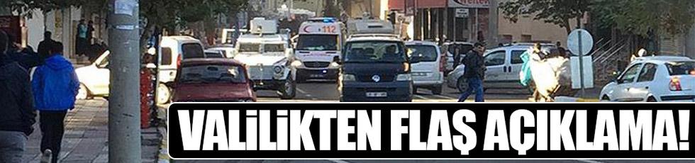 Valilik'ten Diyarbakır saldırısıyla ilgili çarpıcı açıklama