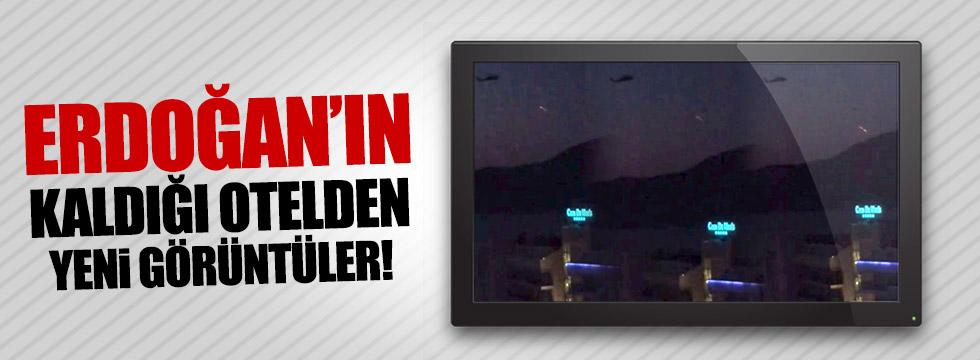 Erdoğan'ın kaldığı oteldeki çatışmanın yeni  görüntüleri çıktı