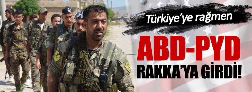 PKK'nın Suriye kolu PYD, Rakka'ya girdi