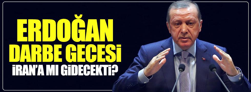 Erdoğan İran'a gidecekti iddialarına yalanlama