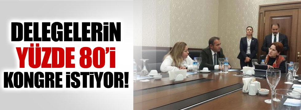 Delegeler Meral Akşener'i istiyor