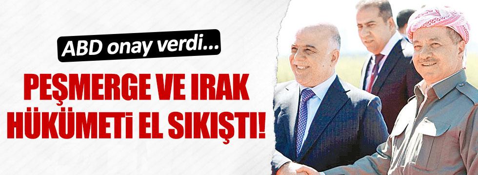 Barzani ile Abadi'nin sürpriz buluşması