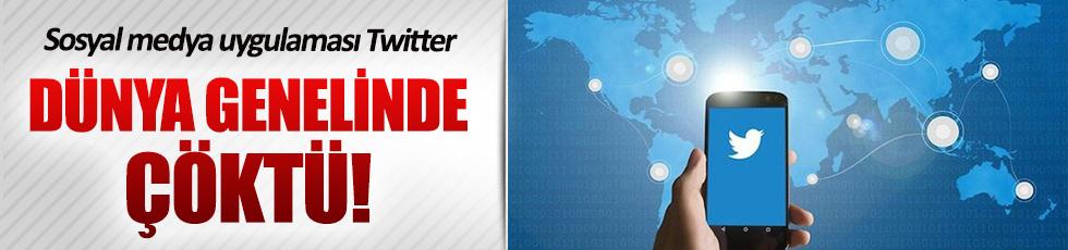 Twitter dünya genelinde çöktü!