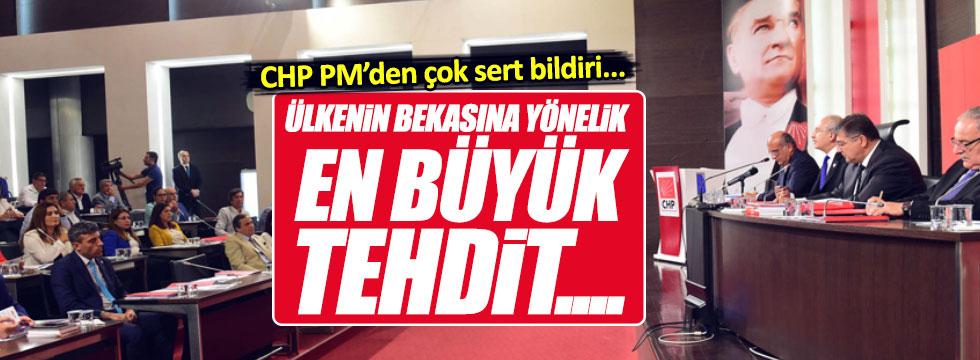 CHP Parti Meclisi'nden çok sert bildiri