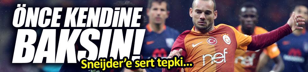 Wesley Sneijder'e sert tepki!
