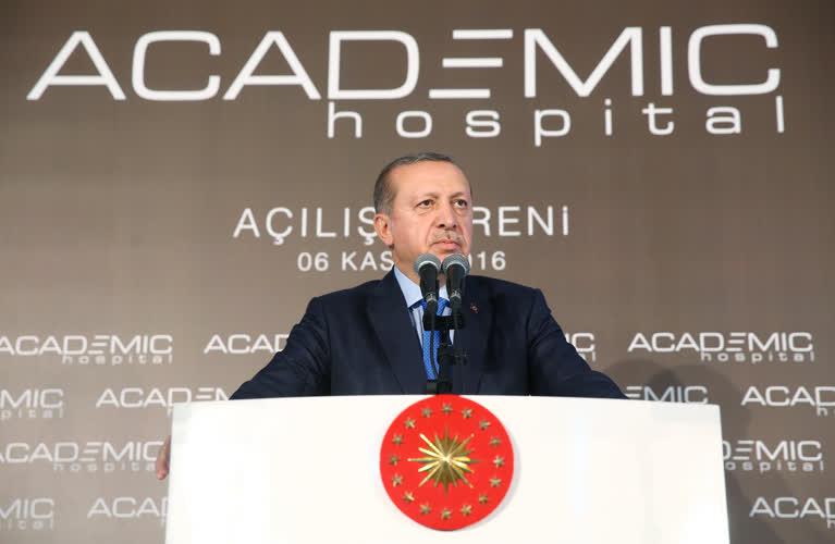 Erdoğan'dan batıya çevreci çıkışı