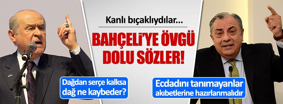 Tuğrul Türkeş'ten Devlet Bahçeli'ye övgü