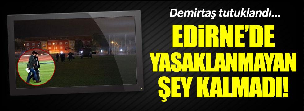 Edirne'de protesto, gösteri, yürüyüş yasaklandı
