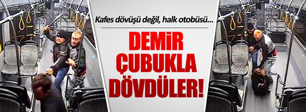 Antalya'da halk otobüsünde dehşet anları