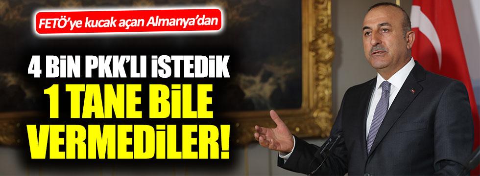 Dışişleri Bakanı Çavuşoğlu'ndan çarpıcı Almanya itirafı