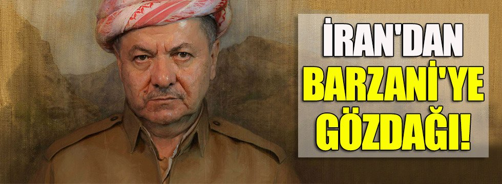 İran'dan Barzani'ye gözdağı