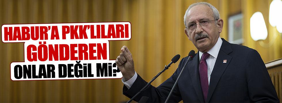 """Kılıçdaroğlu: """"PKK'ya meşrutiyet kazandırdılar"""""""