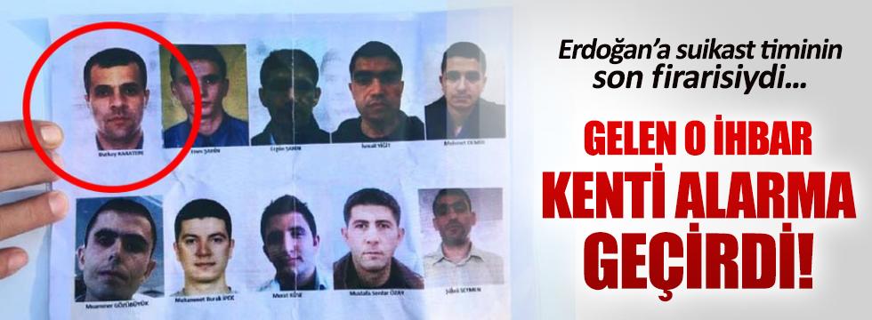 Firari suikastçı Yüzbaşı Burkay için Eskişehir'den ihbar geldi