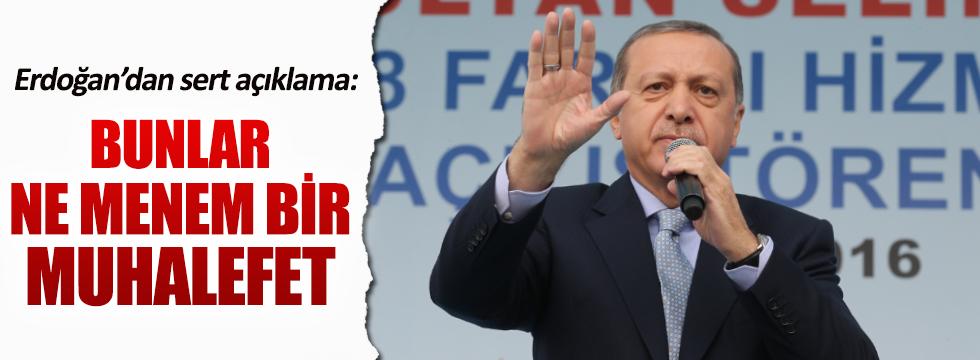 Cumhurbaşkanı Erdoğan'dan CHP bildirisine sert yanıt