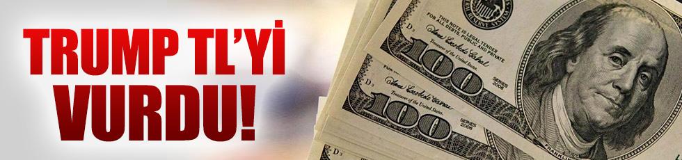 Trump doları vurdu, zirveyi zorluyor!
