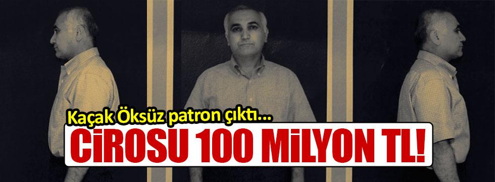 Adil Öksüz 'patron' çıktı