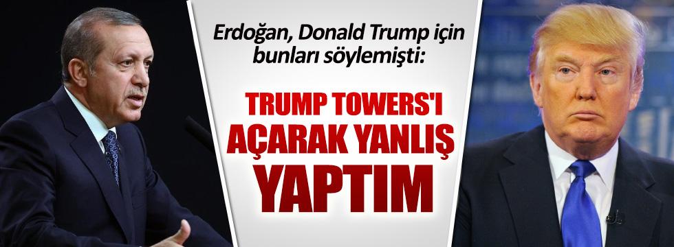 Erdoğan, Donald Trump için ne demişti?