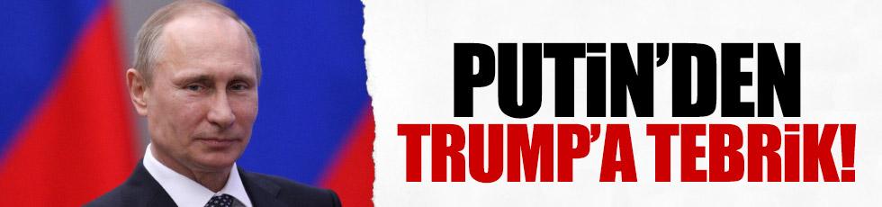 Putin'den, Trump'a tebrik telgrafı