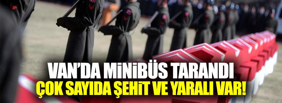 PKK minibüs taradı! Çok sayıda şehit ve yaralı var
