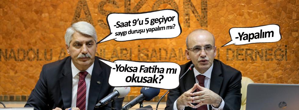 Ekonomi toplantısında Fatihalı 10 Kasım anması