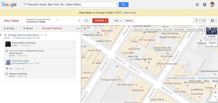 Google, Harita uygulamasını kapatıyor mu?