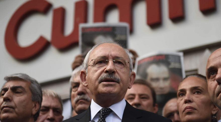 Kılıçdaroğlu Cumhuriyet'i ziyaret etti