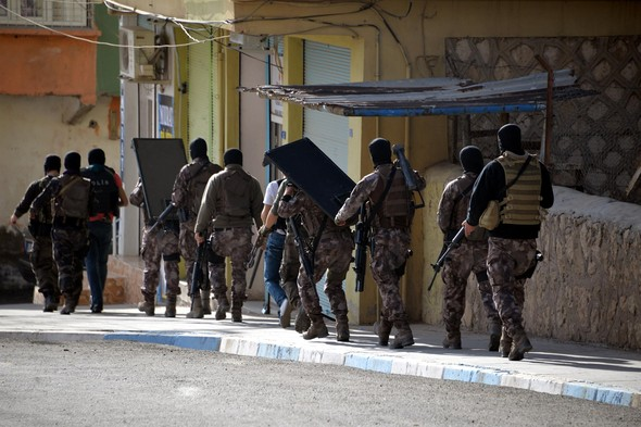 Mardin'de dev operasyon başlatıldı