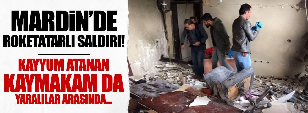 Mardin, Derik'te roketatarlı saldırı