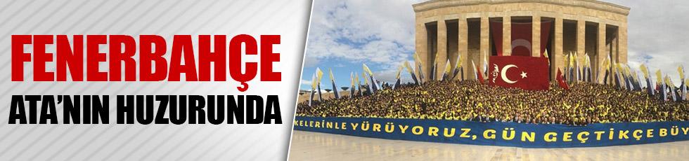 Fenerbahçe Anıtkabir'de