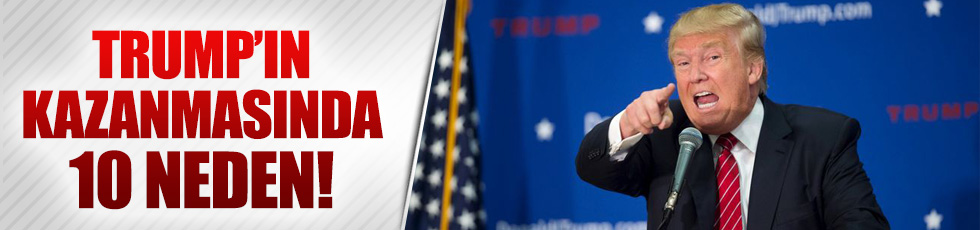 Donald Trump nasıl kazandı?