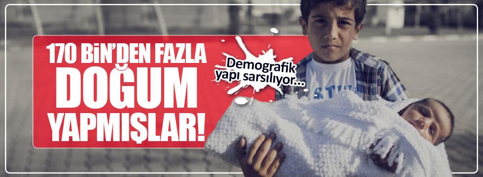 Türkiye'de Suriyeli nüfusu artıyor!