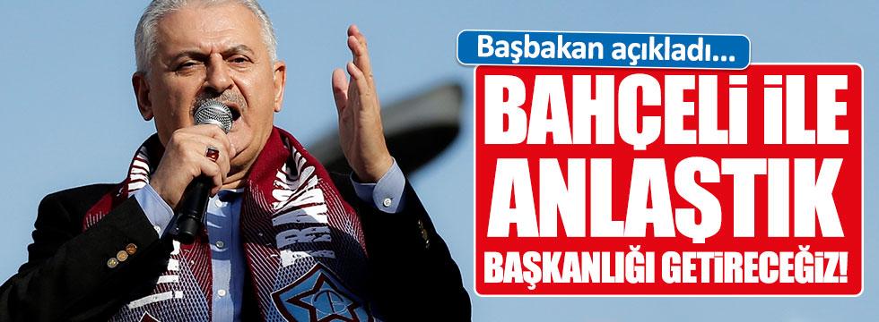 Binali Yıldırım: MHP ile Başkanlığı getireceğiz