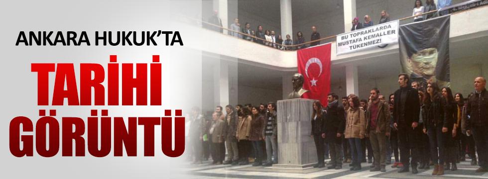 Ankara Hukuk'tan tarihi görüntü