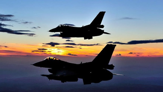 Suriye'de, jetler 19 gün sonra havalandı