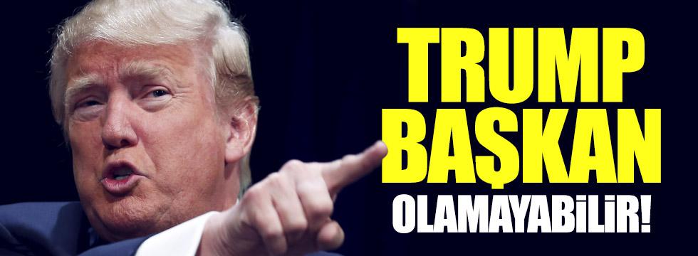 Trump başkan olmayabilir